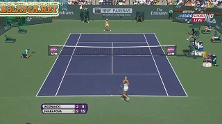 Caroline Wozniacki vs Maria Sharapova Final WTA Indian Wells 2013